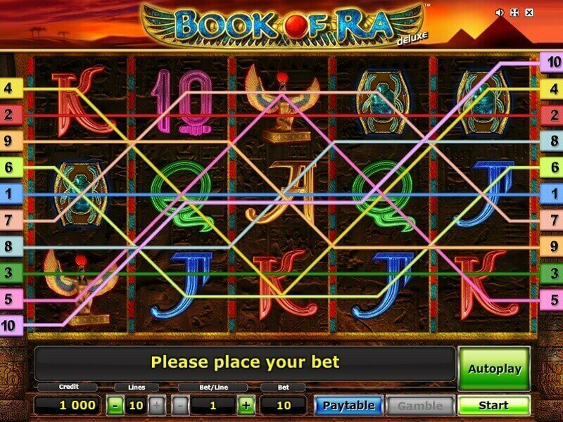 book of ra free play online