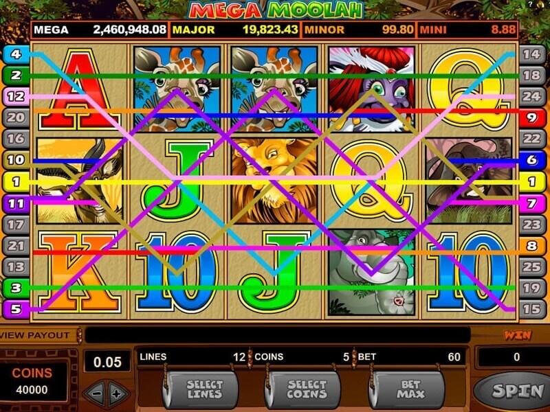 play mega moolah slot online