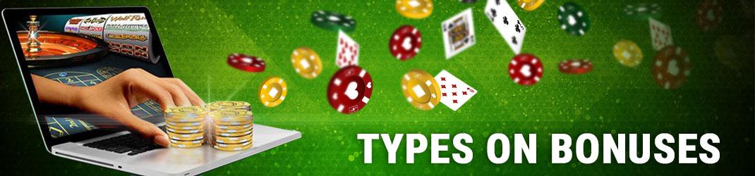 Types on bonuses